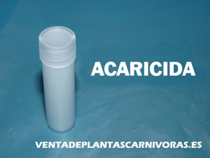 acaricida plantas carnívoras